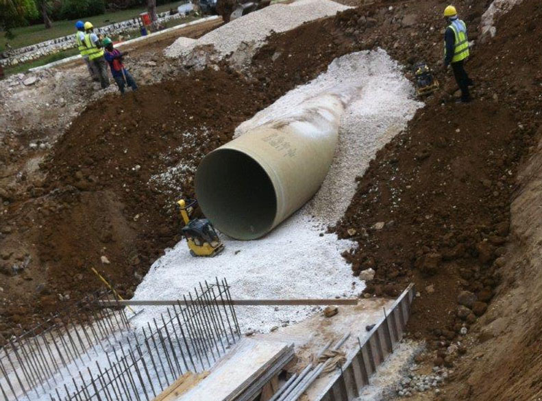 Construction of New Buried Pipeline